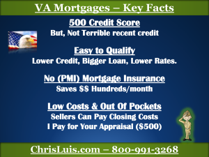 VA Mortgage – Keys Facts