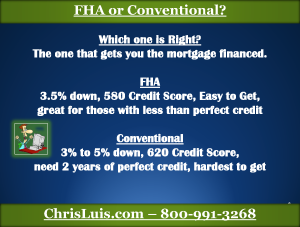 7 FHA vs Conventional