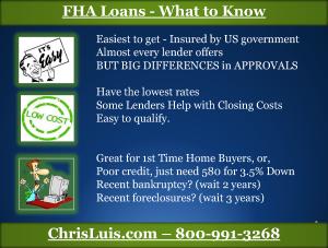 5 FHA Loan